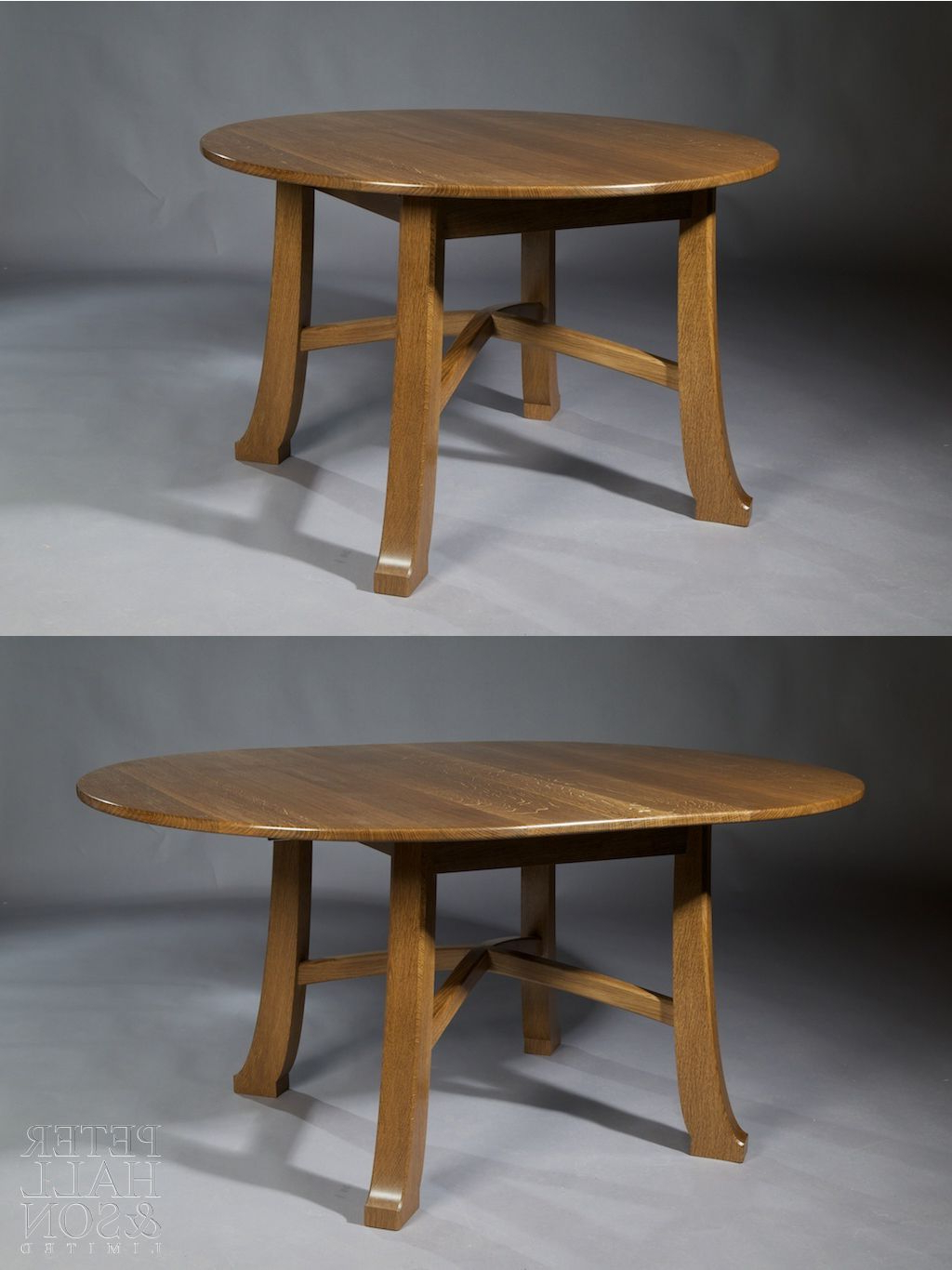 Fumed Oak Dining Tables With Regard To Best And Newest Extending 'pembroke' Table In Fumed Oak (View 10 of 25)