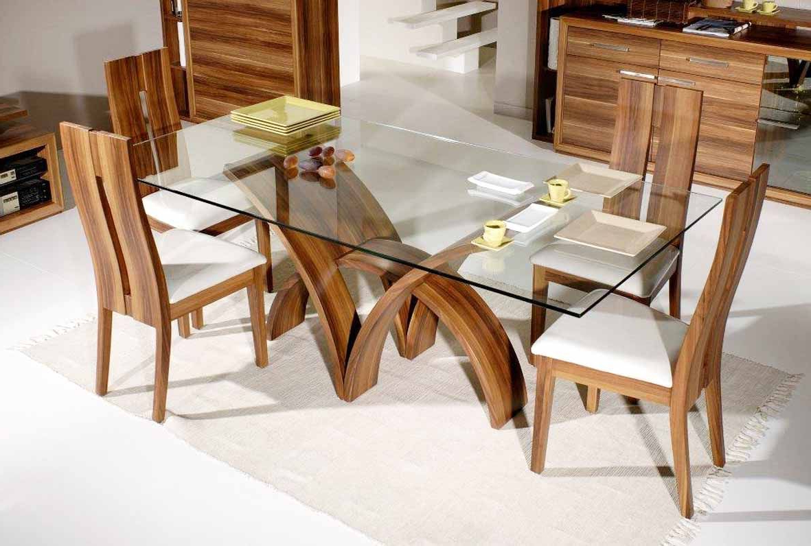 Glass Dining Throughout Contemporary Rectangular Dining Tables (View 7 of 25)