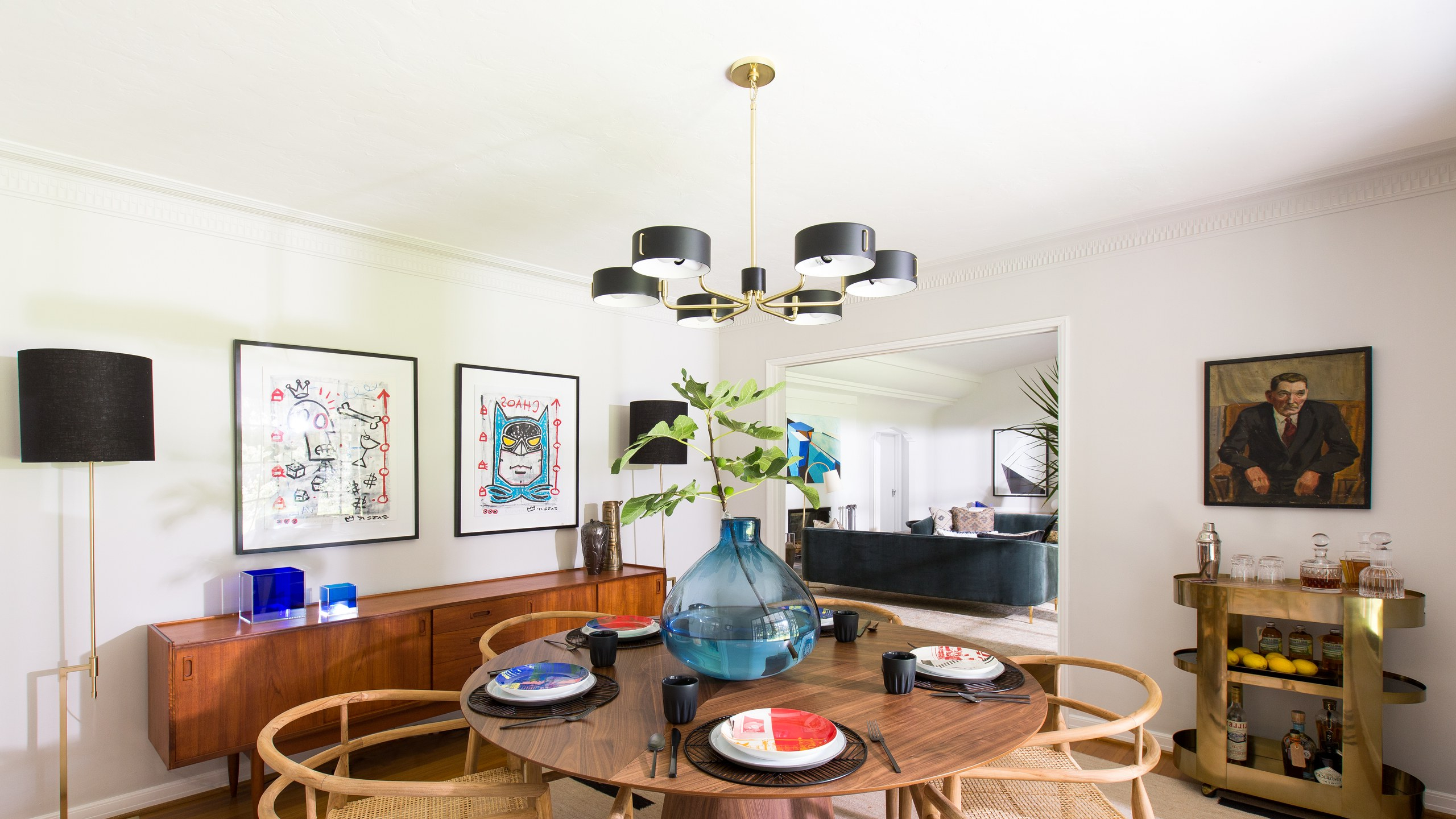 Glass Top Condo Dining Tables Within Fashionable 8 Midcentury Modern Decor & Style Ideas: Tips For Interior (View 22 of 25)