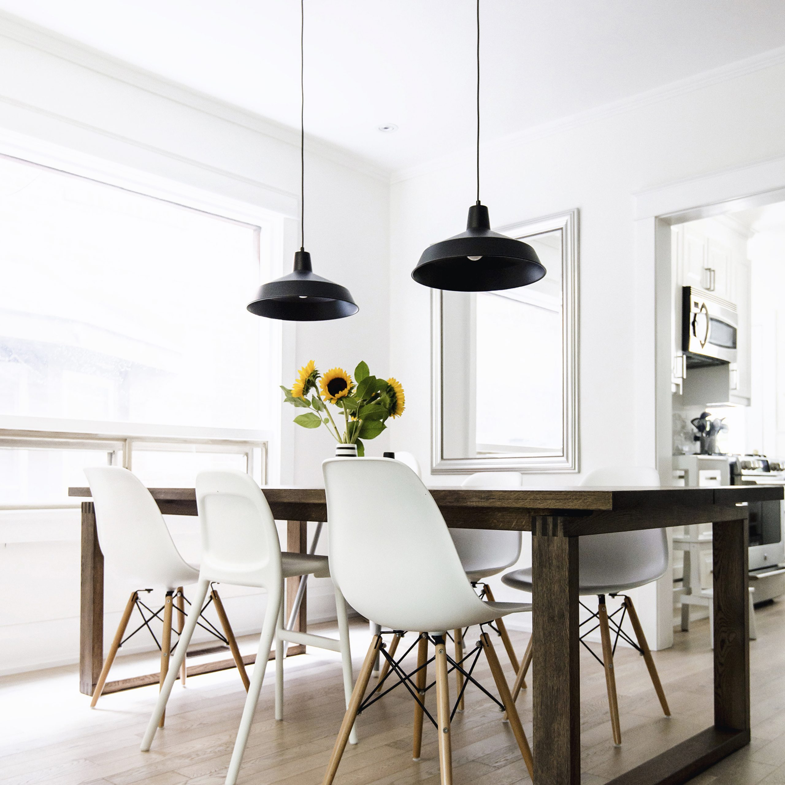 Happy Grey Lucky Intended For Most Recently Released Eames Style Dining Tables With Wooden Legs (View 7 of 16)