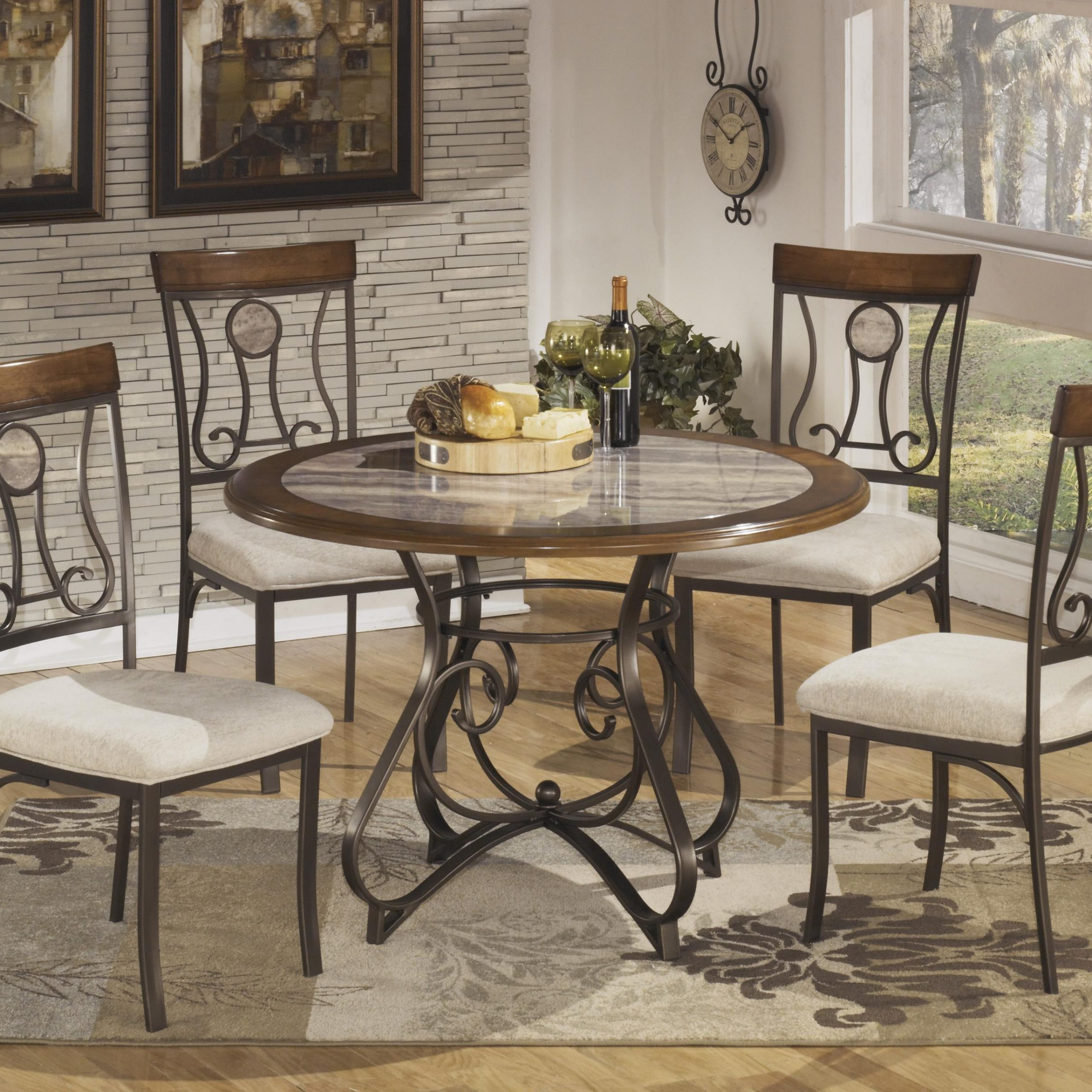 Home Design Living Room for Most Recently Released Dom Round Dining Tables