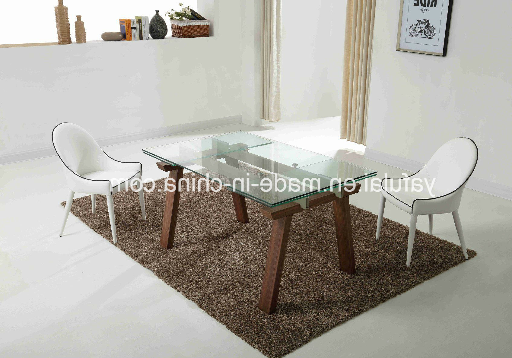 [%[Hot Item] Morden Glass Extension Dining Table Solid Wood Dining Furniture Inside Best And Newest Extension Dining Tables|Extension Dining Tables Pertaining To Widely Used [Hot Item] Morden Glass Extension Dining Table Solid Wood Dining Furniture|2019 Extension Dining Tables Intended For [Hot Item] Morden Glass Extension Dining Table Solid Wood Dining Furniture|Most Up To Date [Hot Item] Morden Glass Extension Dining Table Solid Wood Dining Furniture Within Extension Dining Tables%] (View 23 of 25)