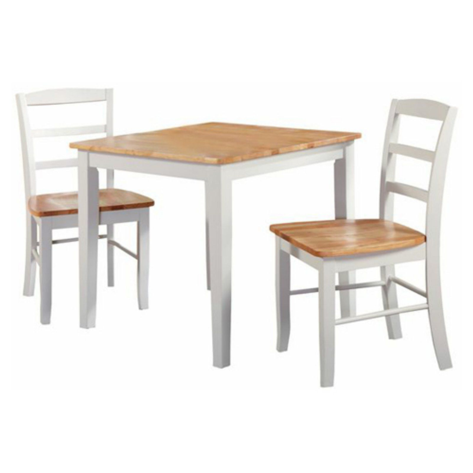 International Concepts Silerton 3 Piece Dining Table Set regarding Well-known 3 Pieces Dining Tables And Chair Set