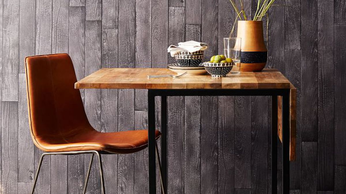 Iron Dining Tables With Mango Wood Inside Most Popular Small Dining Tables For Apartments – Curbed (View 23 of 25)
