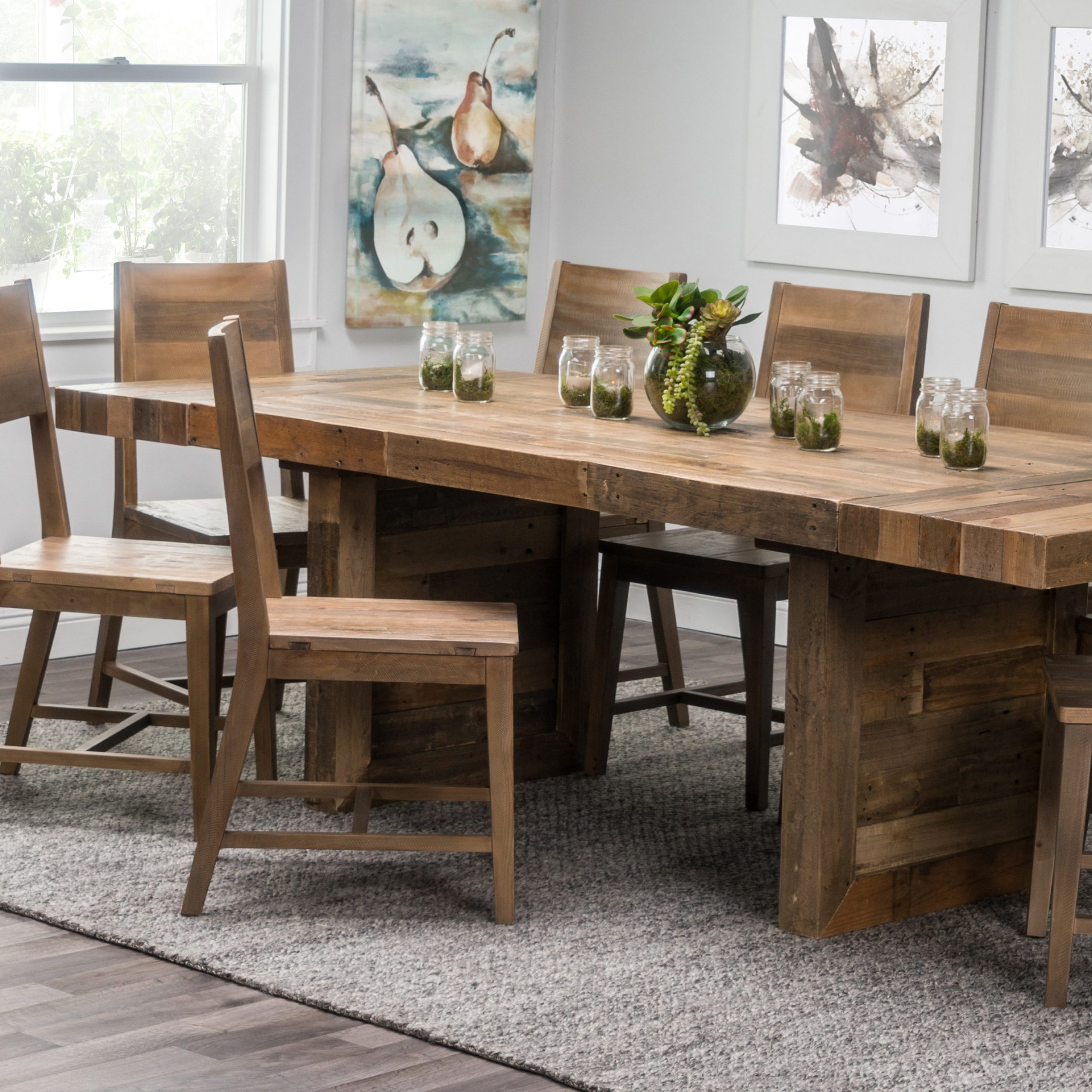 Iron Dining Tables With Mango Wood With Regard To Recent Home Norman Extendable Solid Wood Dining Table Birch Lane (View 21 of 25)