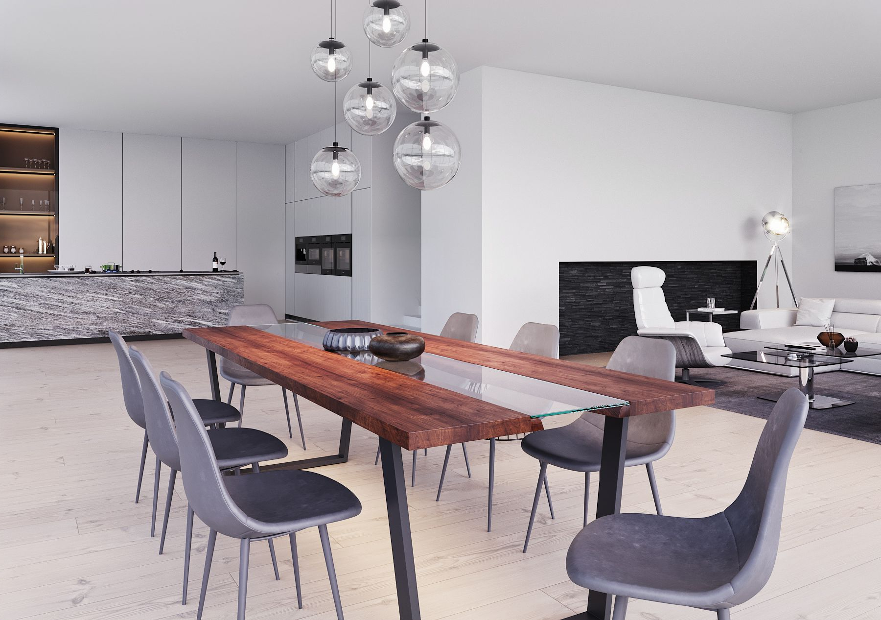 Kaawa Dining Table Large (View 7 of 25)