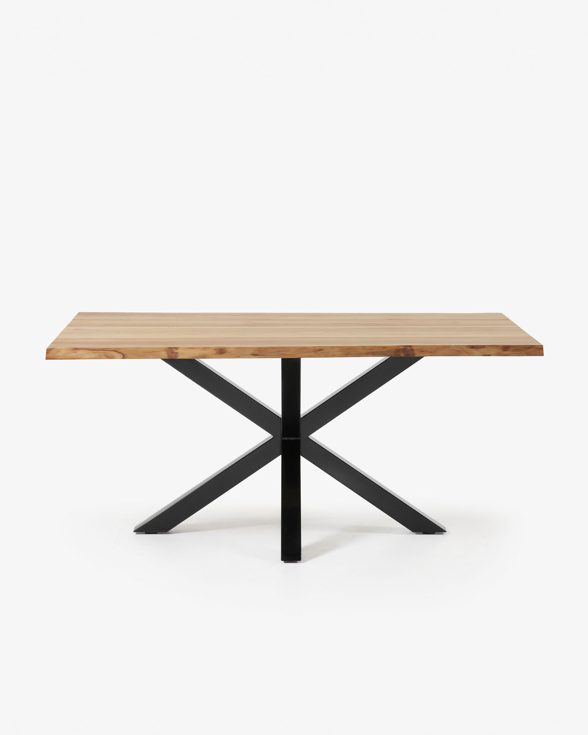 Kave Home Intended For Dining Tables With Black U Legs (View 7 of 25)