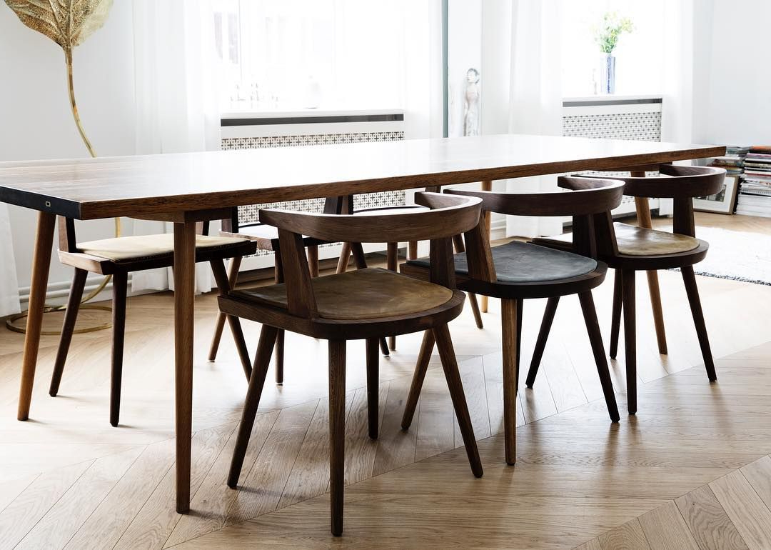 Kbh Chairs With Our Handmade Cushions And The Deluxe Kbh For Best And Newest Fumed Oak Dining Tables (View 21 of 25)