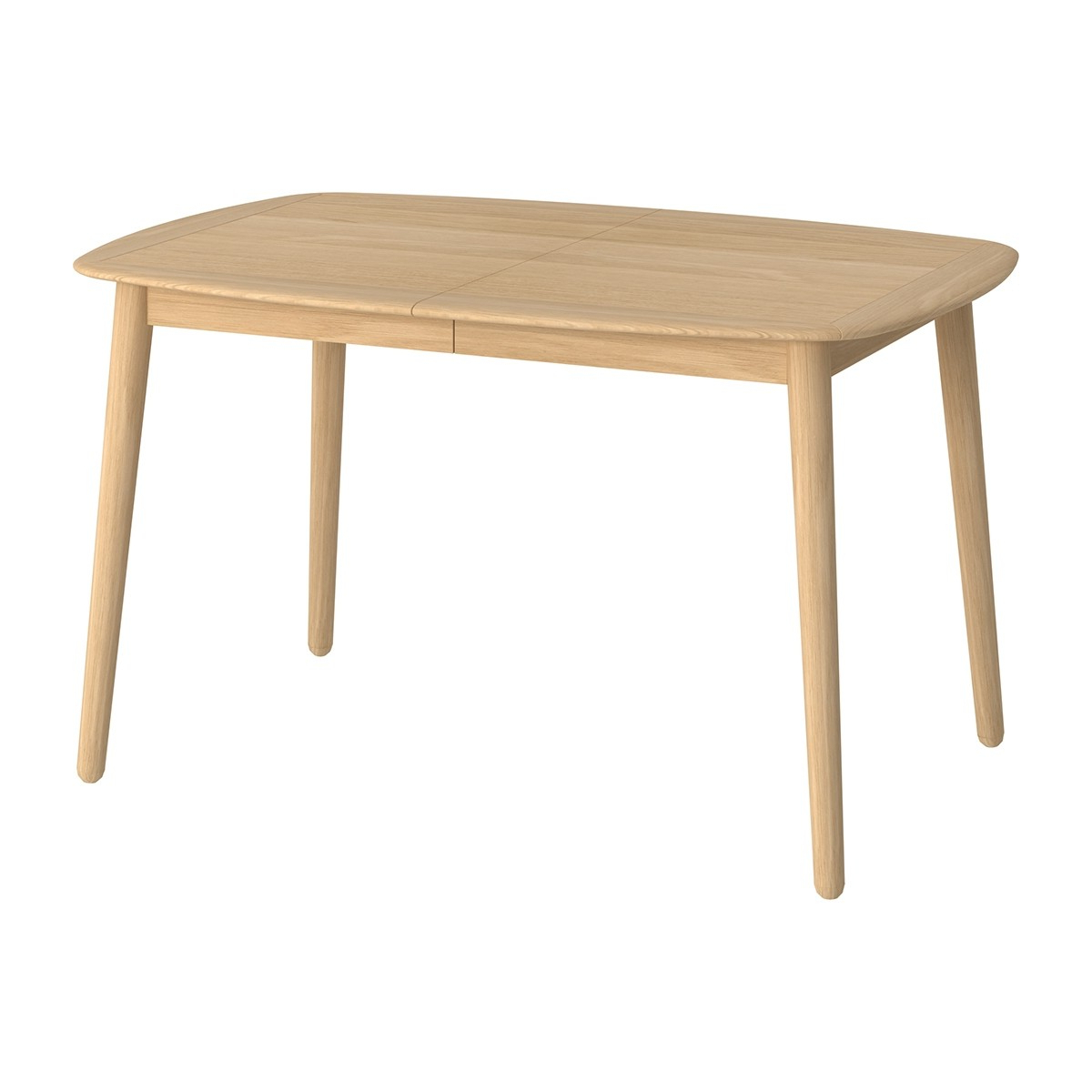 Koto Extension Dining Table (Oak, Small) For Favorite Extension Dining Tables (View 6 of 25)