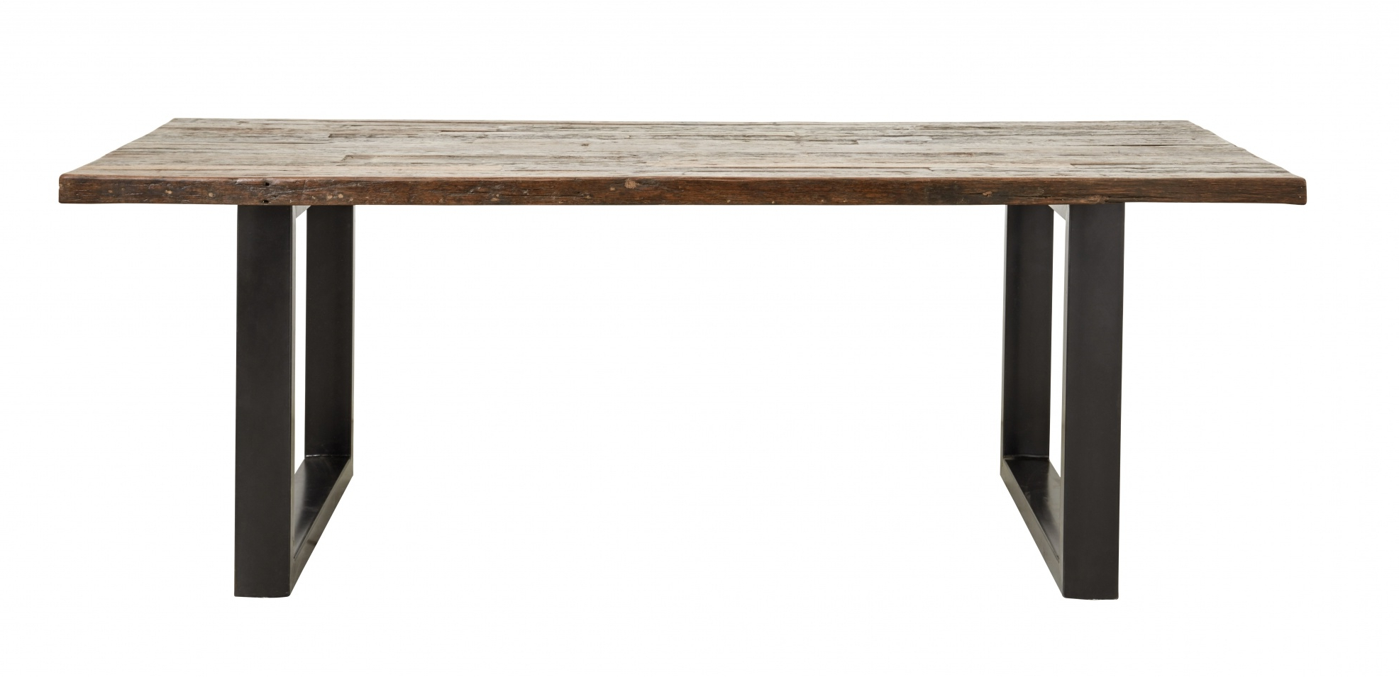 Latest Iron Wood Dining Tables Within Nordal Vintage Dining Table Iron / Wood (View 11 of 25)