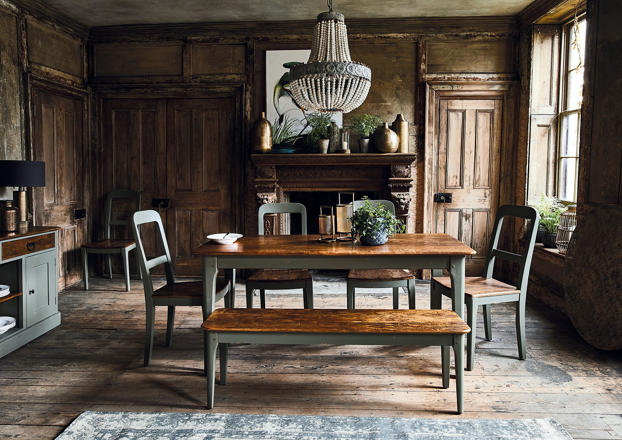 Maison Dining Table, Grey Mango Wood – Barker & Stonehouse In 2019 Thick White Marble Slab Dining Tables With Weathered Grey Finish (View 9 of 25)