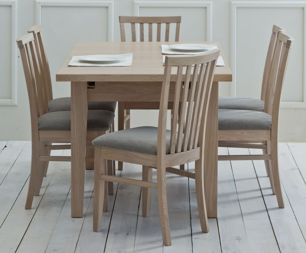 Medium Dining Tables With Favorite Tch Windsor Oak Medium Extending Dining Table (View 23 of 25)