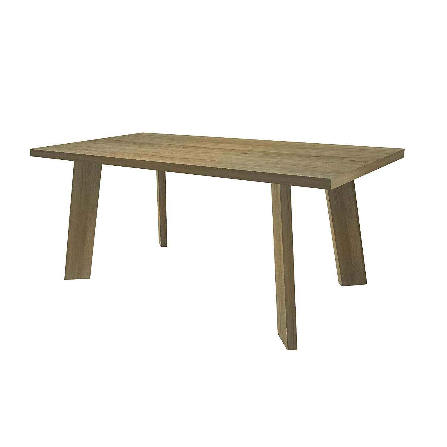Mid Century Rectangular Top Dining Tables With Wood Legs With Newest Amazon – Wooden Rectangular Dining Table For 6 Mid (View 5 of 25)