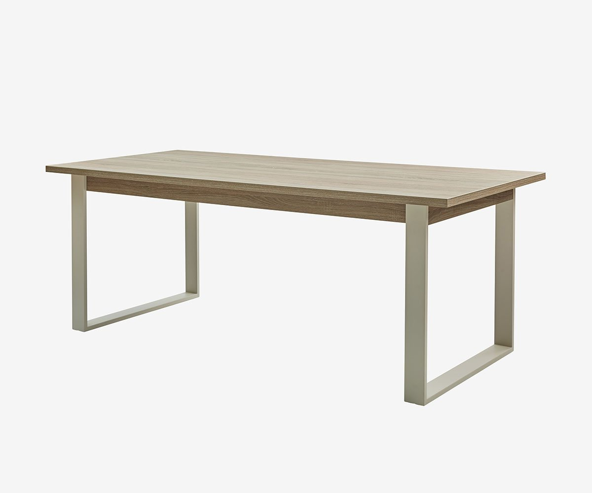 Modern Dining Table, Dining, Table Intended For Best And Newest Acacia Wood Dining Tables With Sheet Metal Base (View 17 of 25)