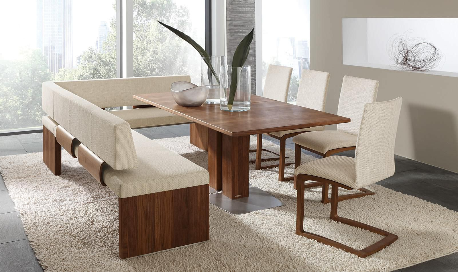 Most Current Contemporary Dining Table / Wooden / Rectangular – Et364 Regarding Contemporary 4 Seating Oblong Dining Tables (View 15 of 25)