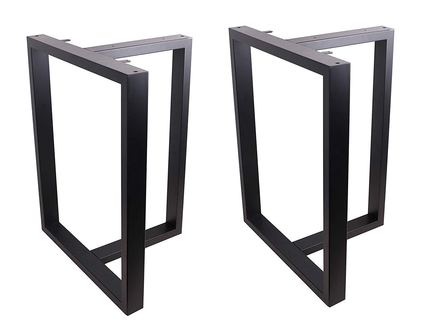 "Most Current Dining Tables With Black U Legs Inside Eclv 28"" Dining Table Legs, T Shaped Steel Table Legs, Office Table Legs,computer Desk Legs,industrial Kitchen Table Legs,set Of 2,black (View 18 of 25)"