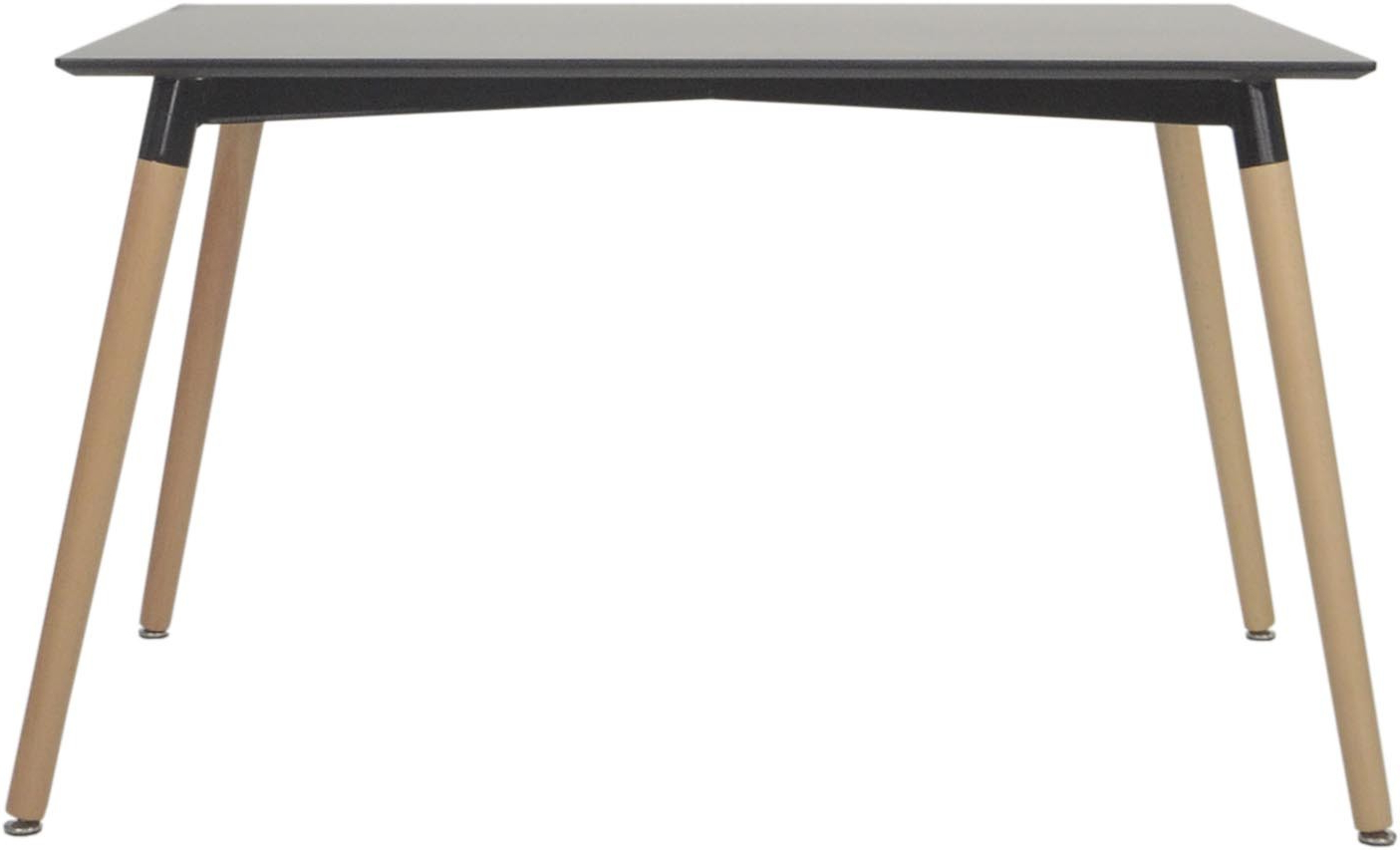 Most Current Medium Dining Tables Inside Vincente Dining Table Black (Medium) (View 14 of 25)