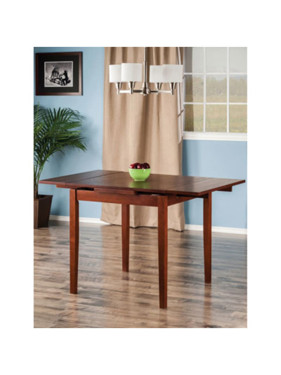 Most Current Winsome Lyndon Transitional 4 Seating Drop Leaf Casual Inside Transitional 4 Seating Drop Leaf Casual Dining Tables (View 11 of 25)