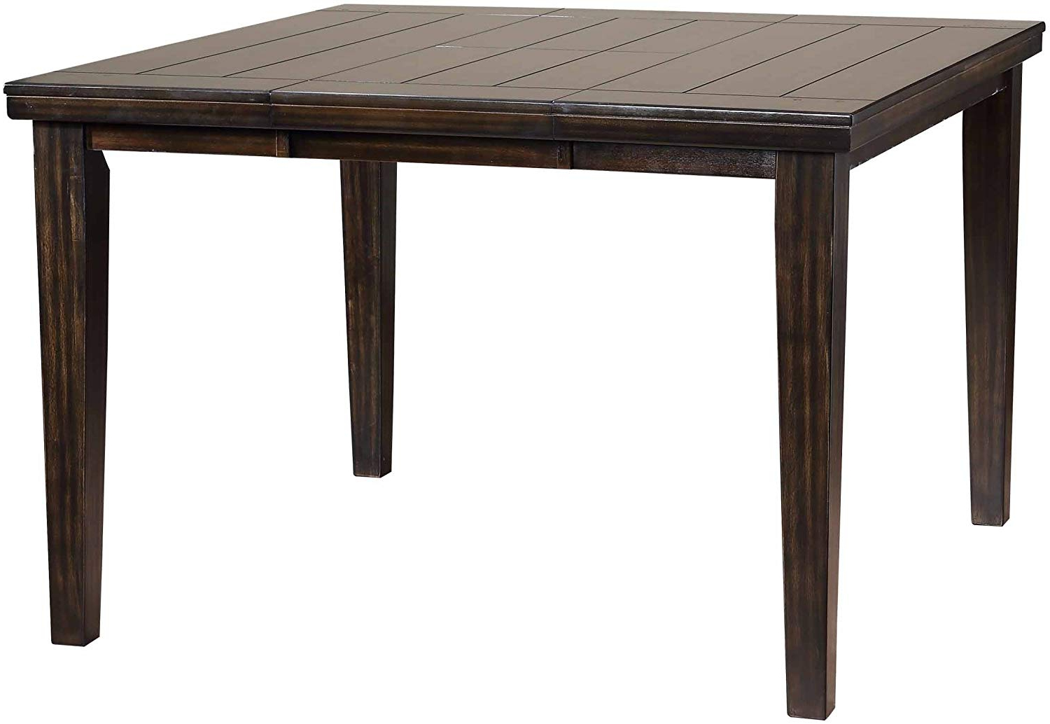 Most Popular Primo International 20933 Hyde Counter Height Casual Wood Dining Table, Dark Napa, Rich Espresso With Transitional Drop Leaf Casual Dining Tables (View 18 of 25)