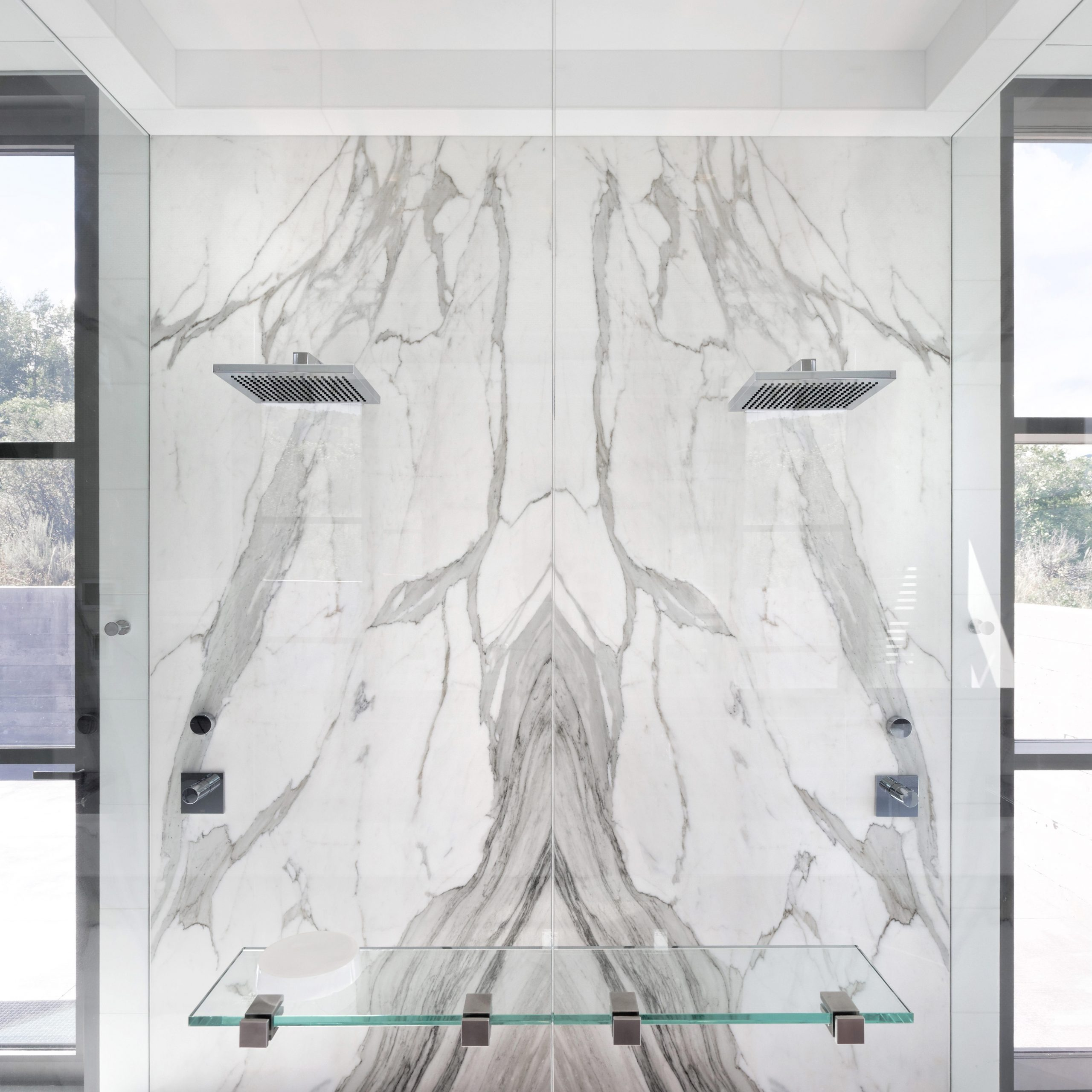 Most Popular Thick White Marble Slab Dining Tables With Weathered Grey Finish For Interior Design Archives (View 11 of 25)