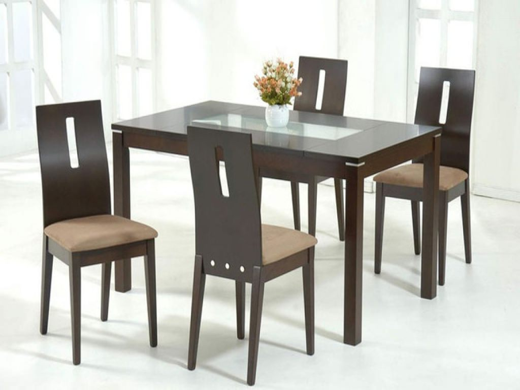 Most Recent Glass Top For Dining Table Wood And Chairs Modern Room For Wood Top Dining Tables (View 12 of 25)