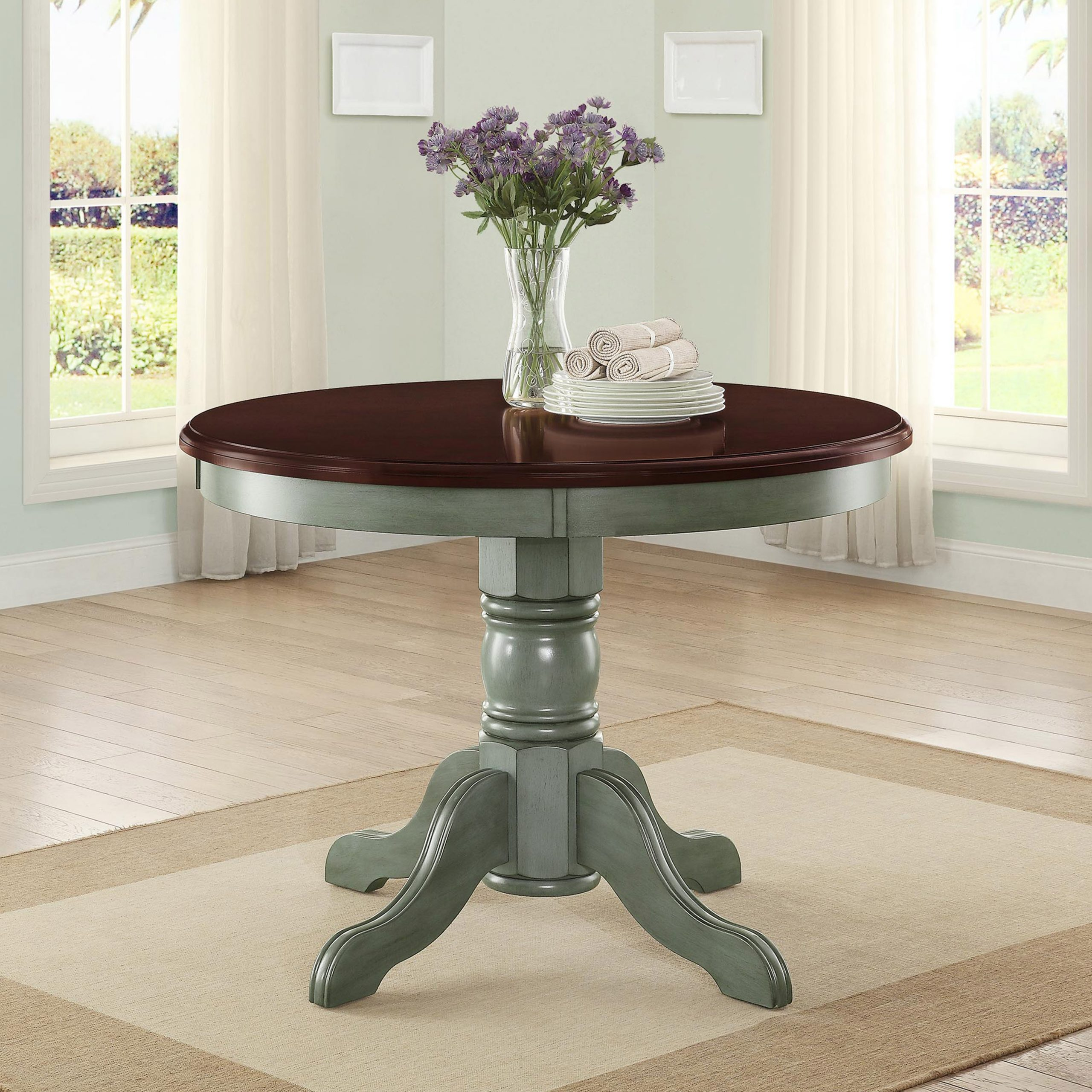 Most Recent Transitional 4 Seating Square Casual Dining Tables Pertaining To Better Homes And Gardens Cambridge Place Dining Table (View 11 of 25)