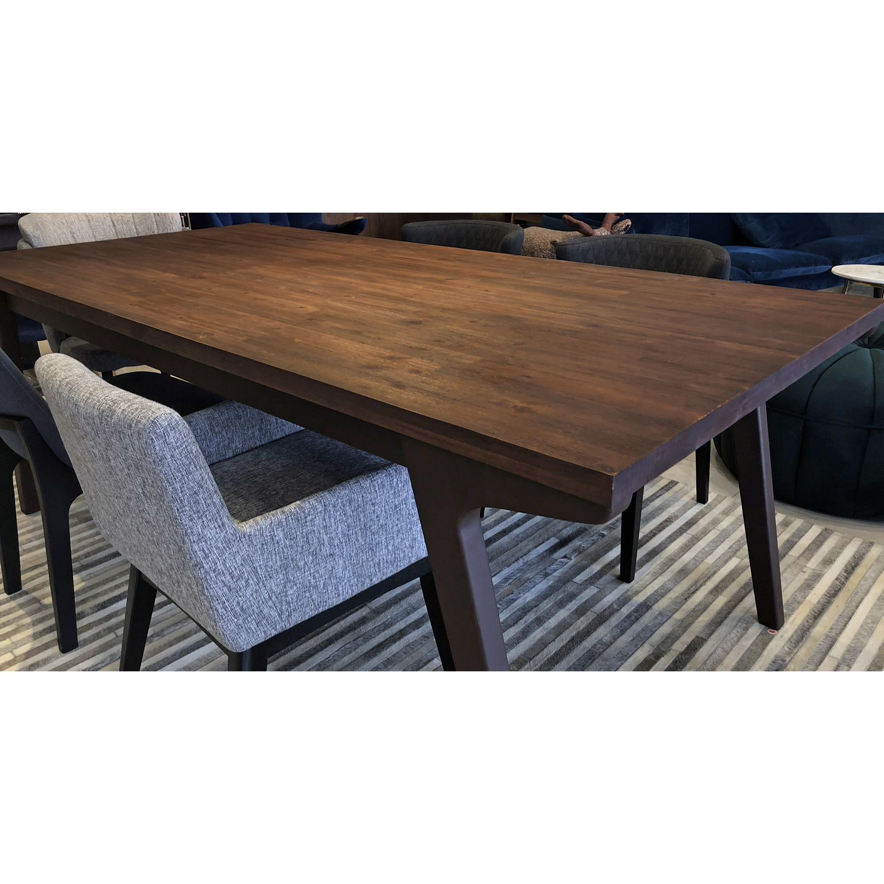 Most Recent Unique Acacia Wood Dining Tables Pertaining To Gaena (210Cm Acacia Wood) Dining Table (View 13 of 25)