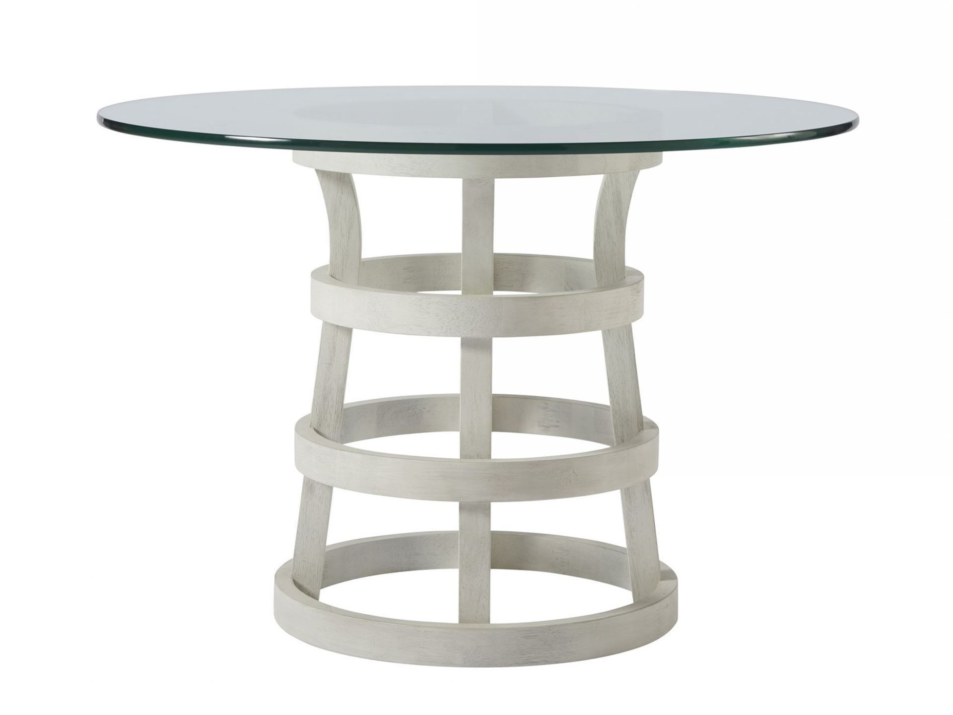 """Most Recently Released Round Glass Top Dining Tables For Escape 44"""" Round Glass Top Table (View 14 of 25)"""