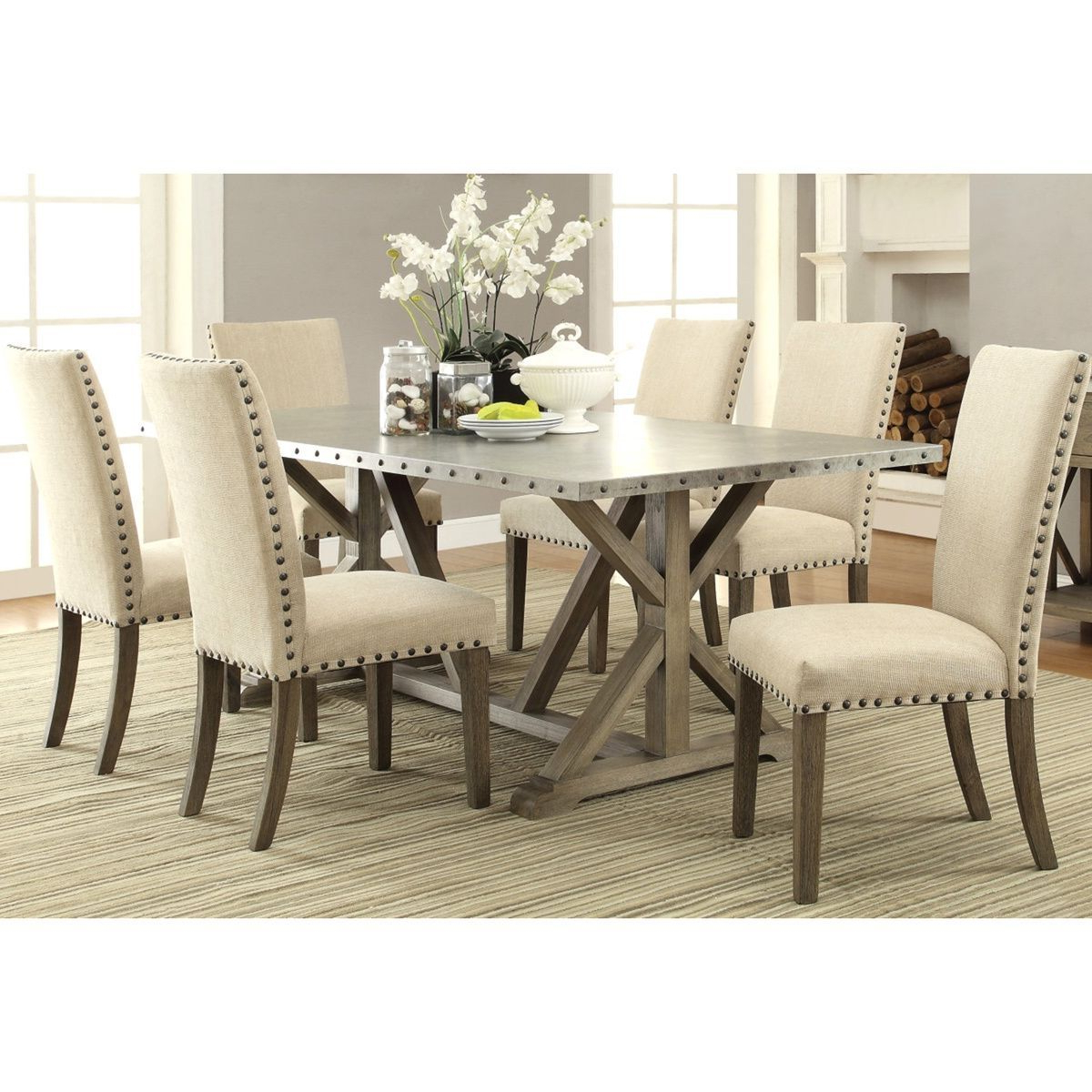 Featured Photo of Transitional Driftwood Casual Dining Tables