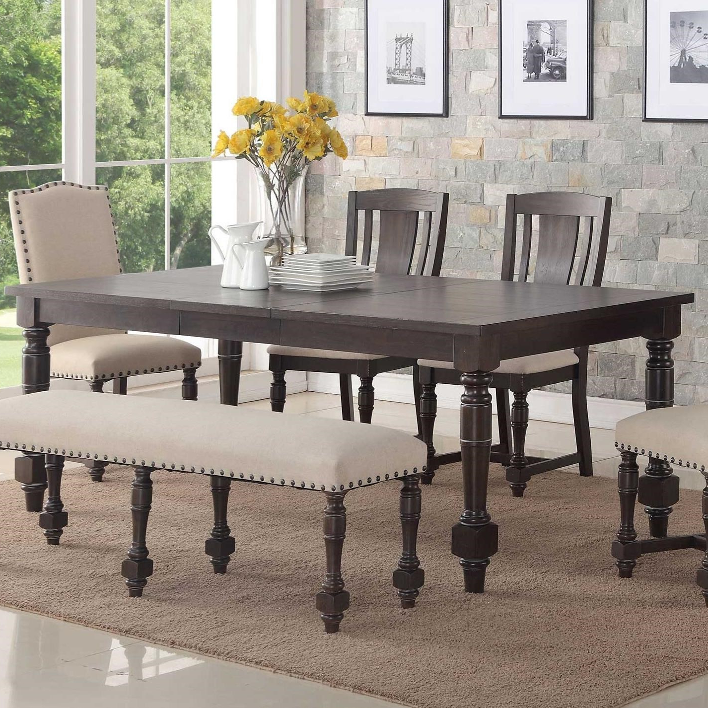 Most Up To Date Xcalibur Rectangular Dining Table In Transitional Rectangular Dining Tables (View 5 of 21)