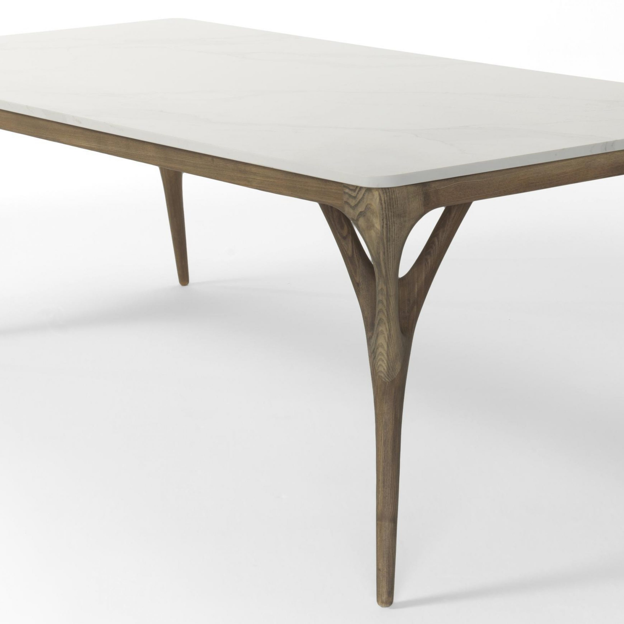Nadia European Ash Medium Dining Tableagrippa In Dining for Widely used Dining Tables With Stained Ash Walnut