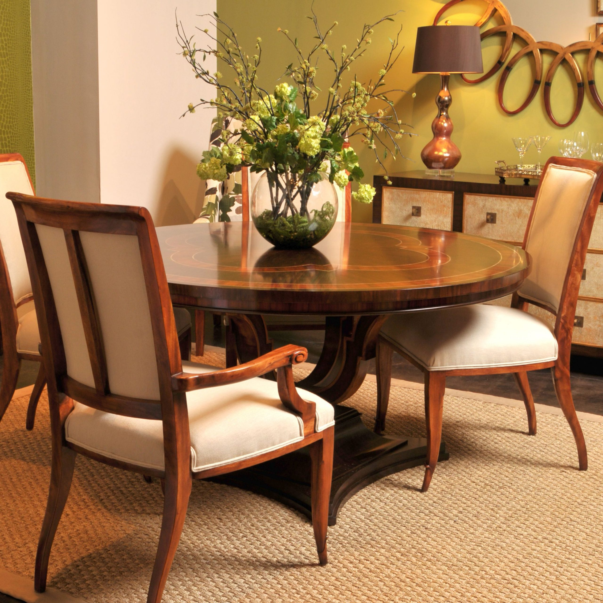 Neo Round Dining Tables for Preferred The Rennes Round Dining Table Is A Neo-Classical Round