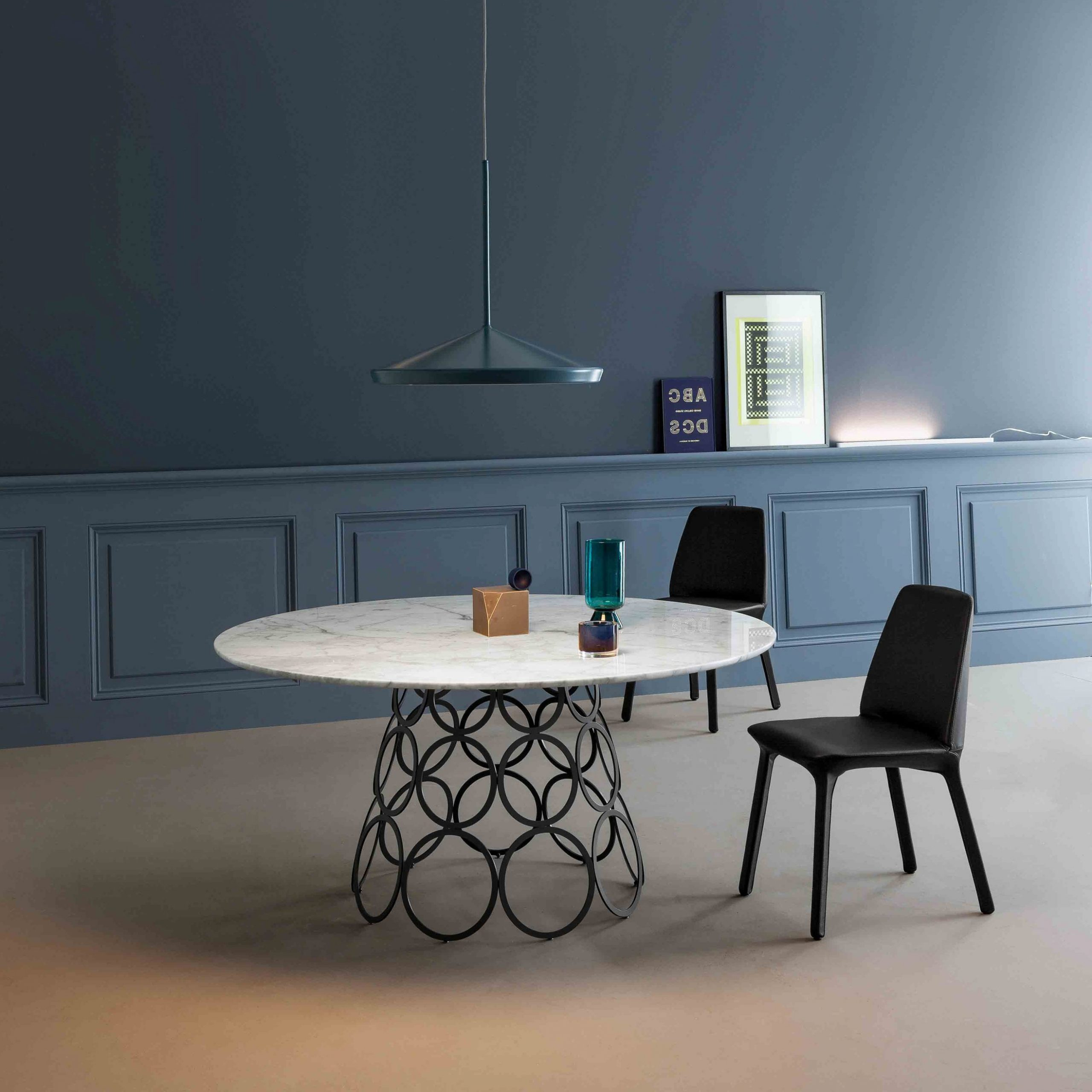 Neo Round Dining Tables with Most Up-to-Date Hulahoop Round Dining Table, Bonaldo Italy - Neo Furniture