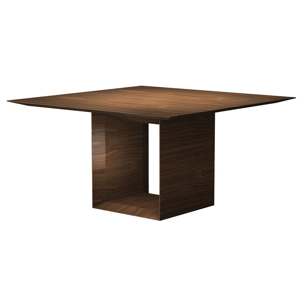 Newest Contemporary 4-Seating Oblong Dining Tables throughout Wonderful Modern Square Dining Tables Furniture Room Glass