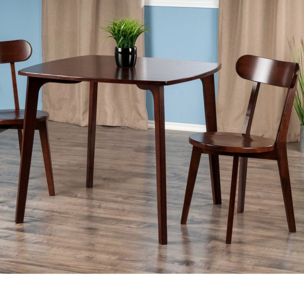 Newest Dining Tables For Small Spaces - Small Spaces - Lonny in 3 Pieces Dining Tables And Chair Set