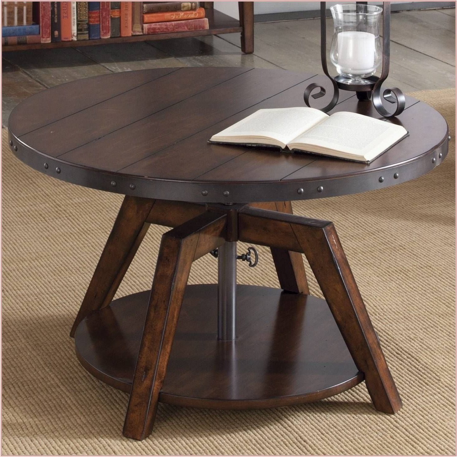 Newest Wood Kitchen Dining Tables With Removable Center Leaf throughout 50+ Amazing Convertible Coffee Table To Dining Table