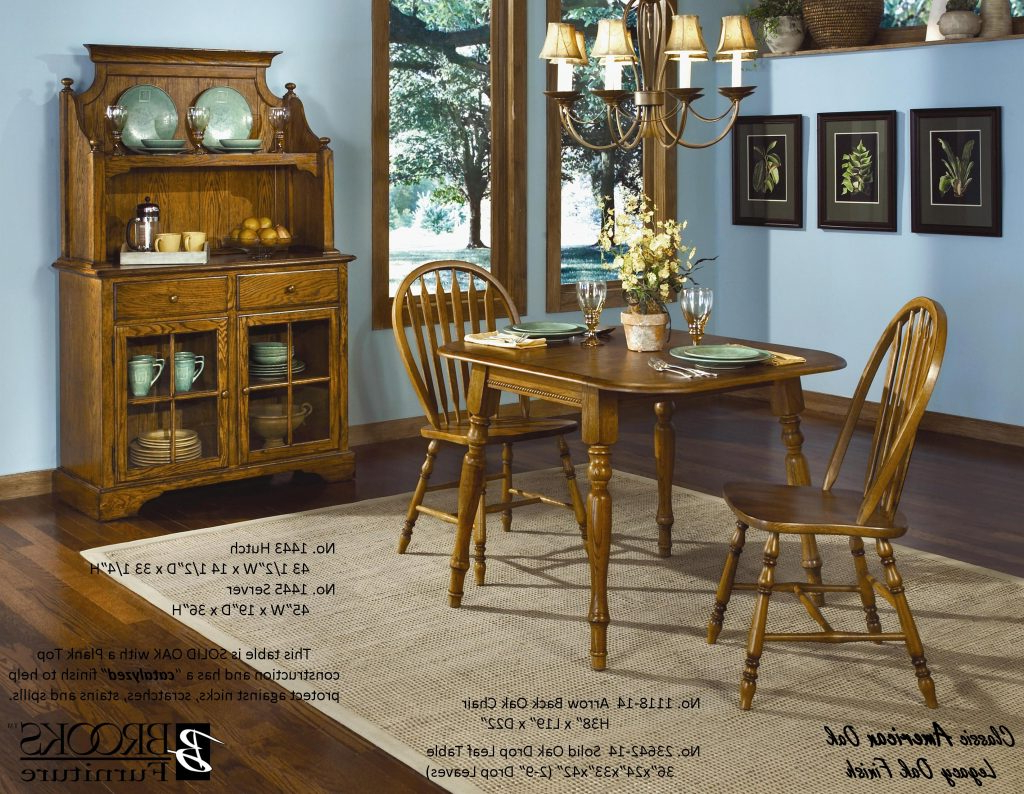 Ogle Furniture Intended For Fashionable Transitional 4 Seating Drop Leaf Casual Dining Tables (View 14 of 25)