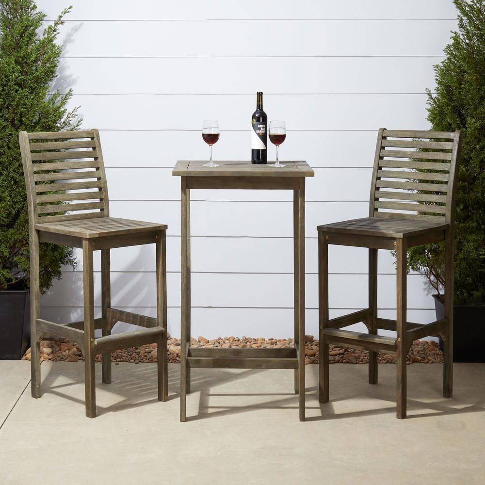Poly Square Bar Table Chairs Beautiful Wooden Rectangular For 2019 Patio Square Bar Dining Tables (View 24 of 25)