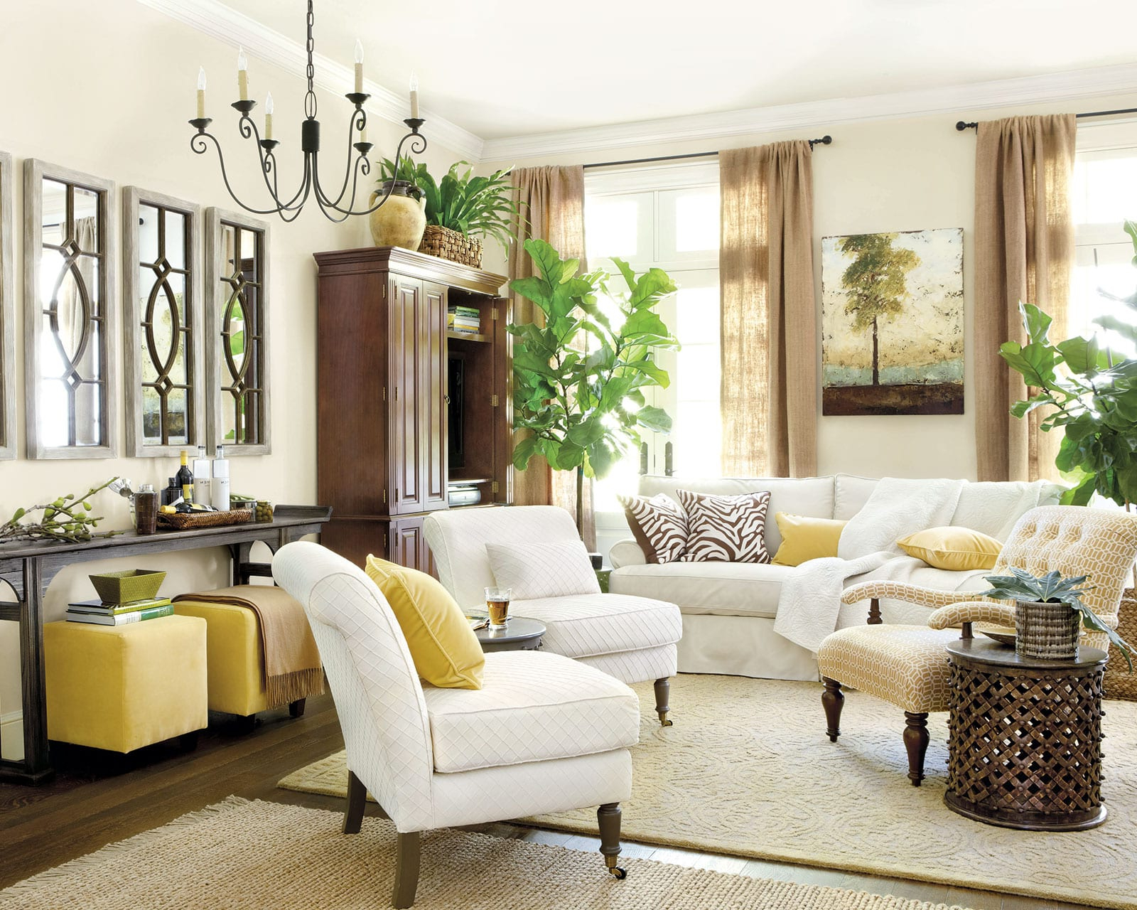 Popular 6 Tips For Mixing Wood Tones In A Room Regarding Vintage Cream Frame And Espresso Bamboo Dining Tables (View 25 of 25)