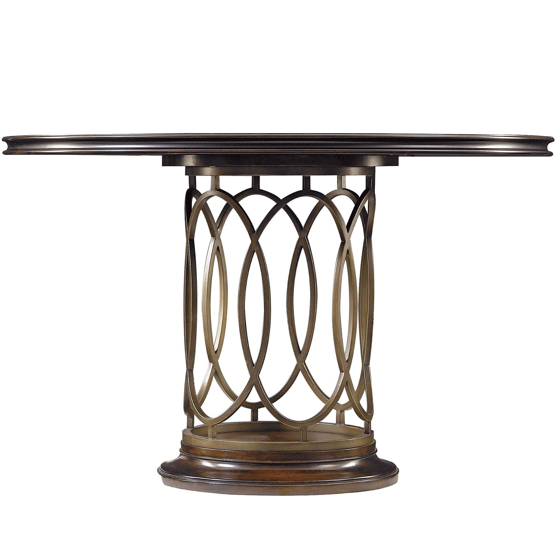 Popular Avalon Heights Neo Deco Pedestal Tablestanley Furniture Inside Neo Round Dining Tables (View 14 of 25)