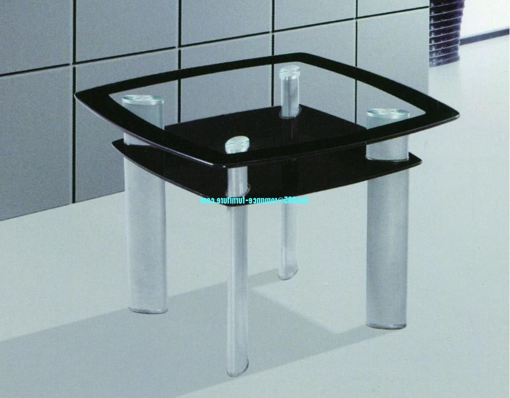 Popular Chrome Dining Tables With Tempered Glass Pertaining To Tempered Glass/chrome With Steel Legs Dining Table A (View 12 of 25)