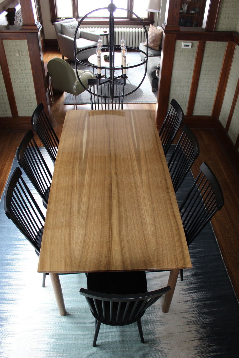 Popular Fumed Oak Dining Tables For Fumed White Oak Dining Table — Woodzest (View 22 of 25)