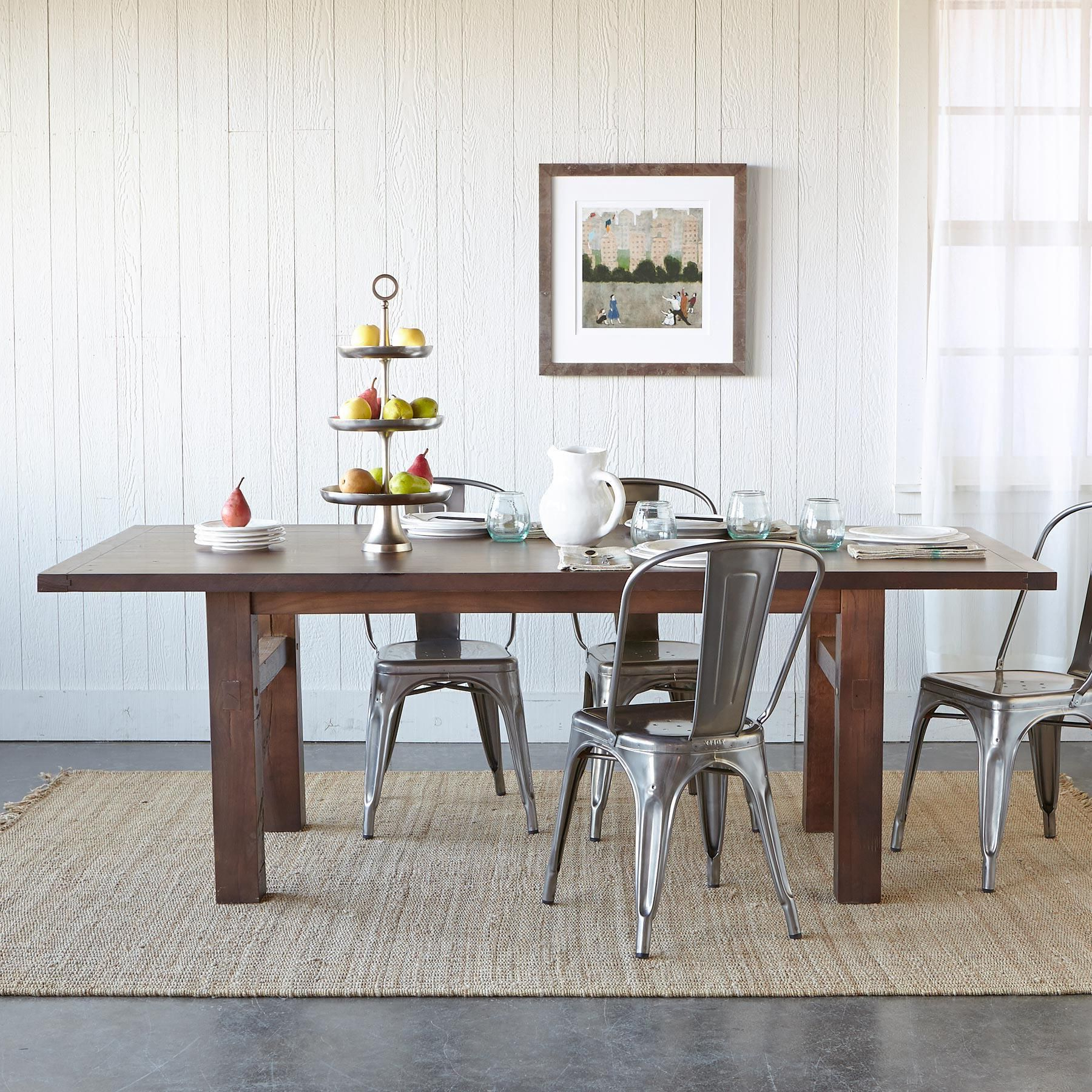 Popular Fumed Oak Dining Tables Inside Oakwood Extension Dining Table (View 14 of 25)