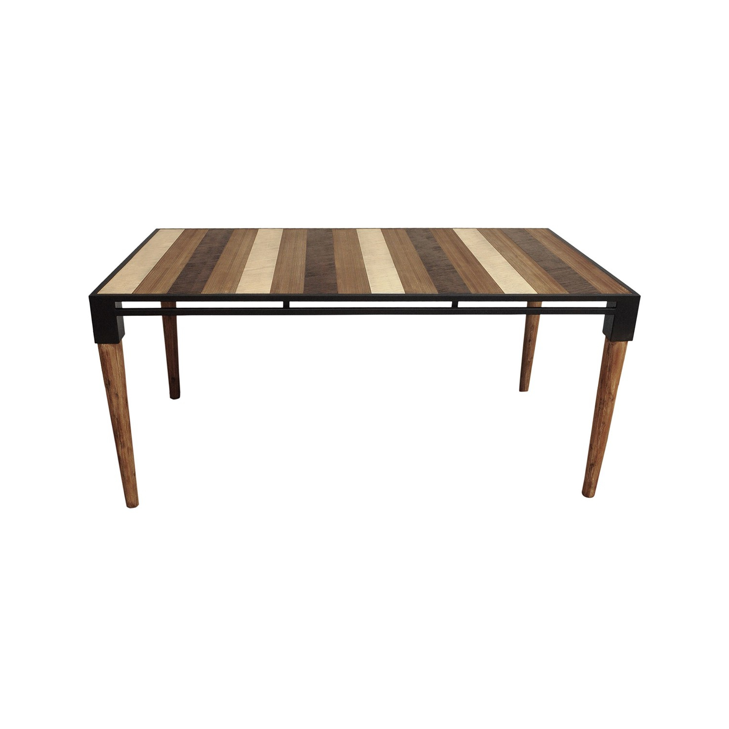 Preferred Acacia Wood Medley Medium Dining Tables With Metal Base For Medley Dining Table  Small (View 4 of 26)