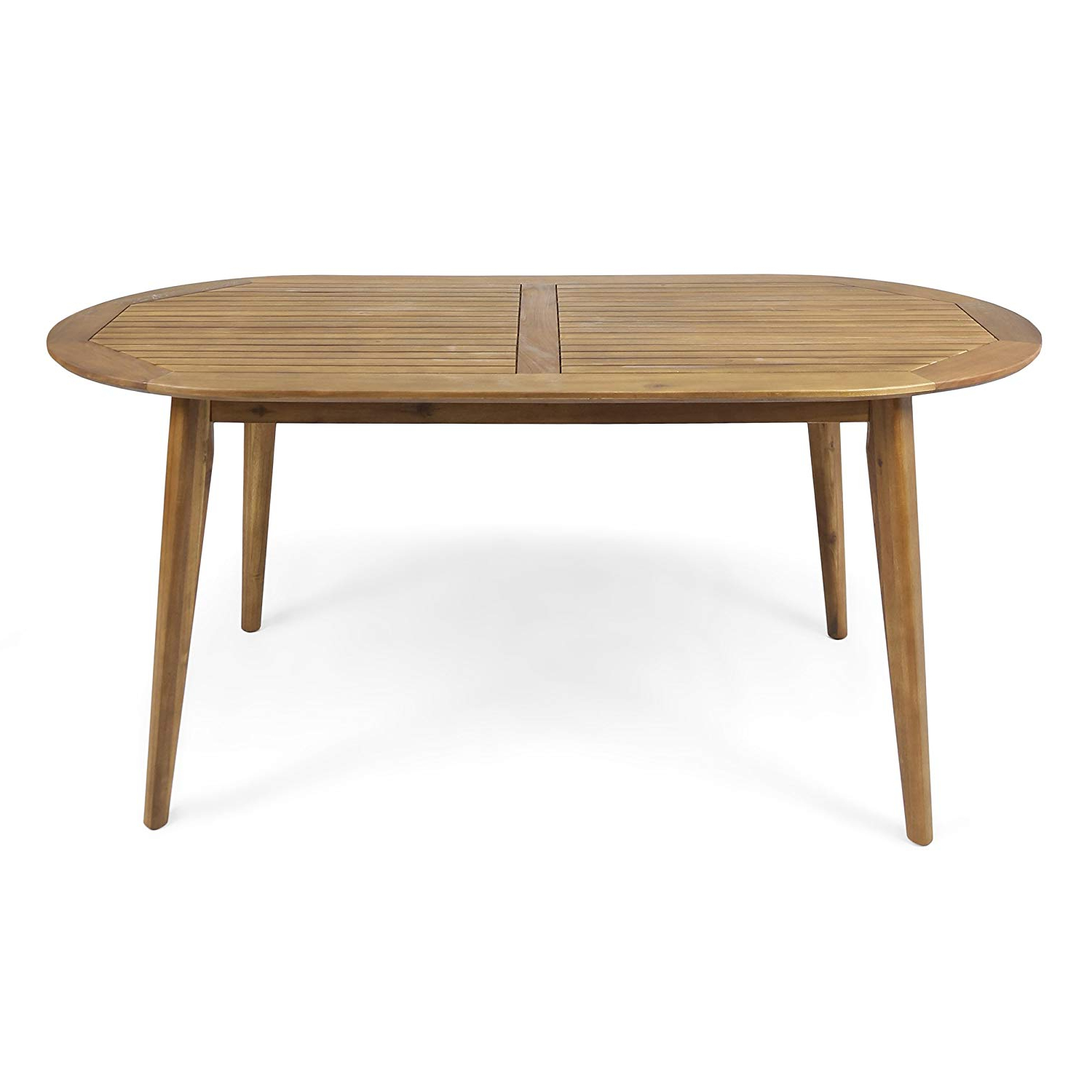 Preferred Amazon: Christopher Knight Home Stanford Outdoor 71 Within Unique Acacia Wood Dining Tables (View 15 of 25)
