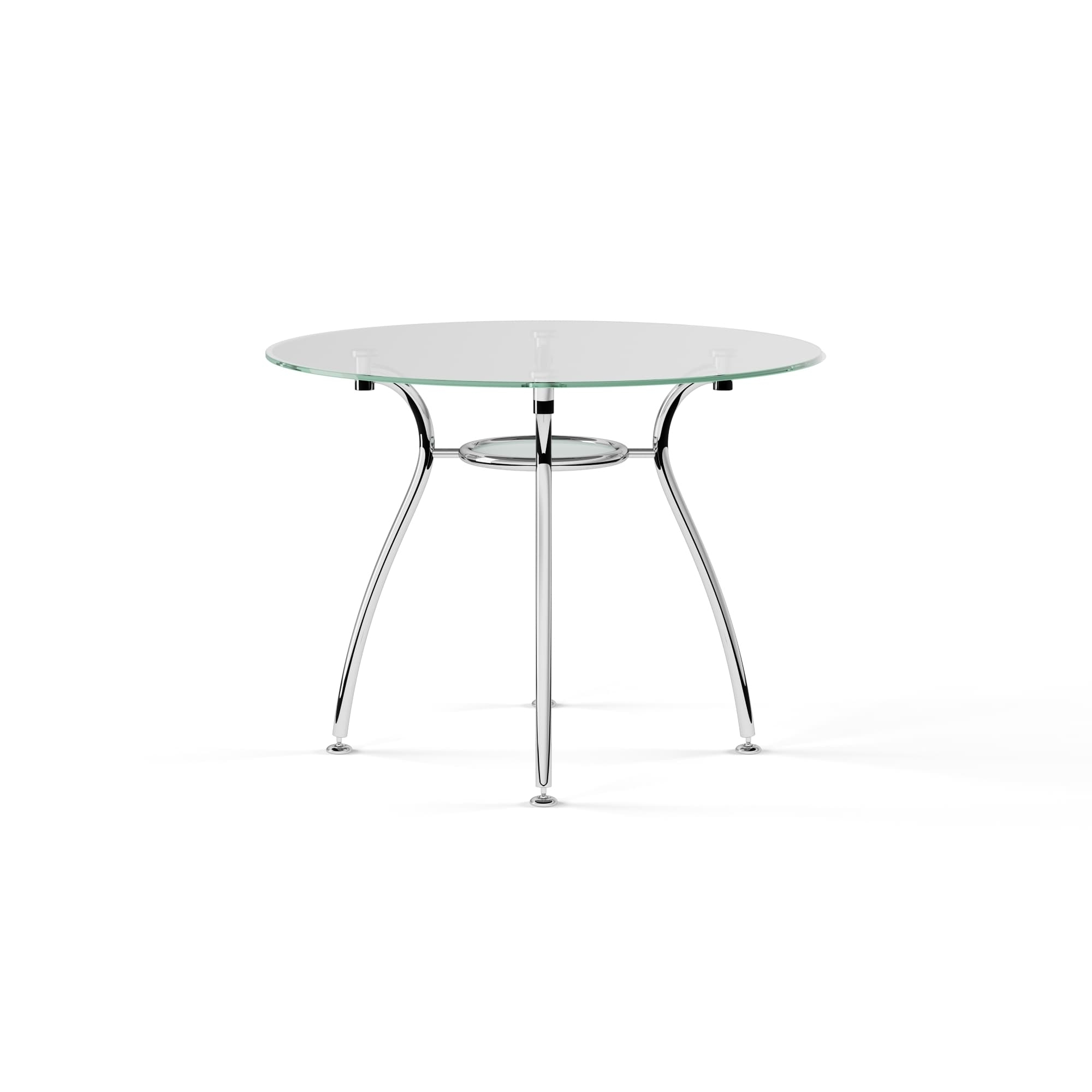Preferred Chrome Dining Tables With Tempered Glass Intended For Porch & Den Third Ward St (View 16 of 25)