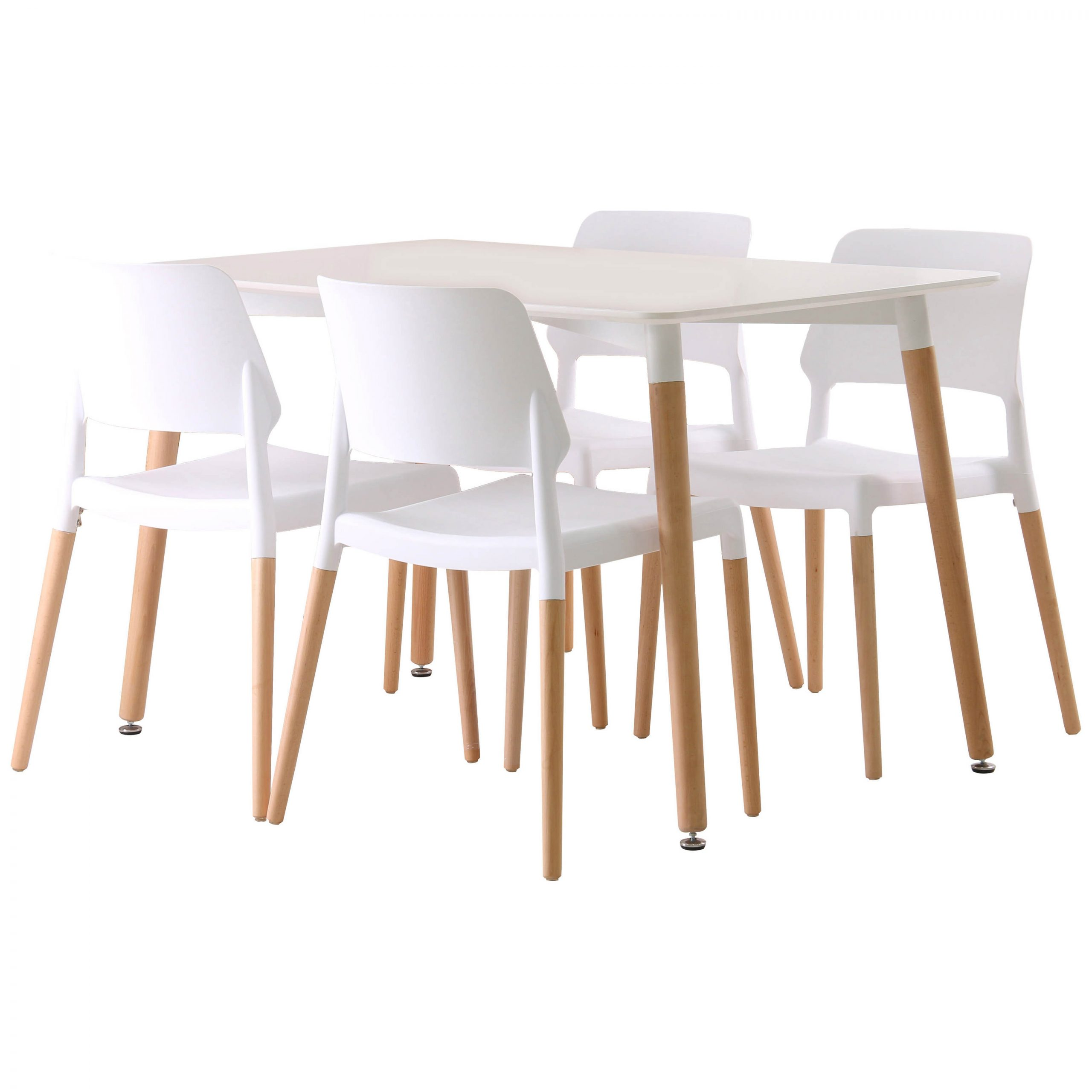 Preferred Details About Rectangle Dining Table And Chair Set With 4 Seats (View 21 of 25)