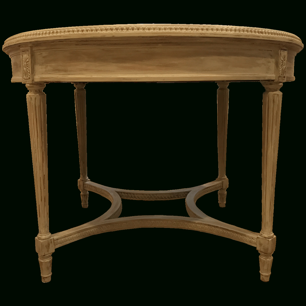 Preferred Neo Round Dining Tables Pertaining To Traditional Antiqued Neo Classical Round Dining Table (View 6 of 25)