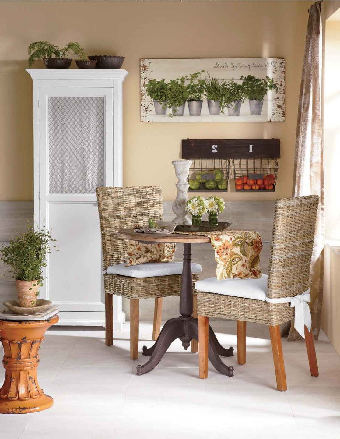 Preferred Small Rustic Look Dining Tables In Cozy Kitchen Maximize A Small Dining Space With A Round (View 9 of 25)