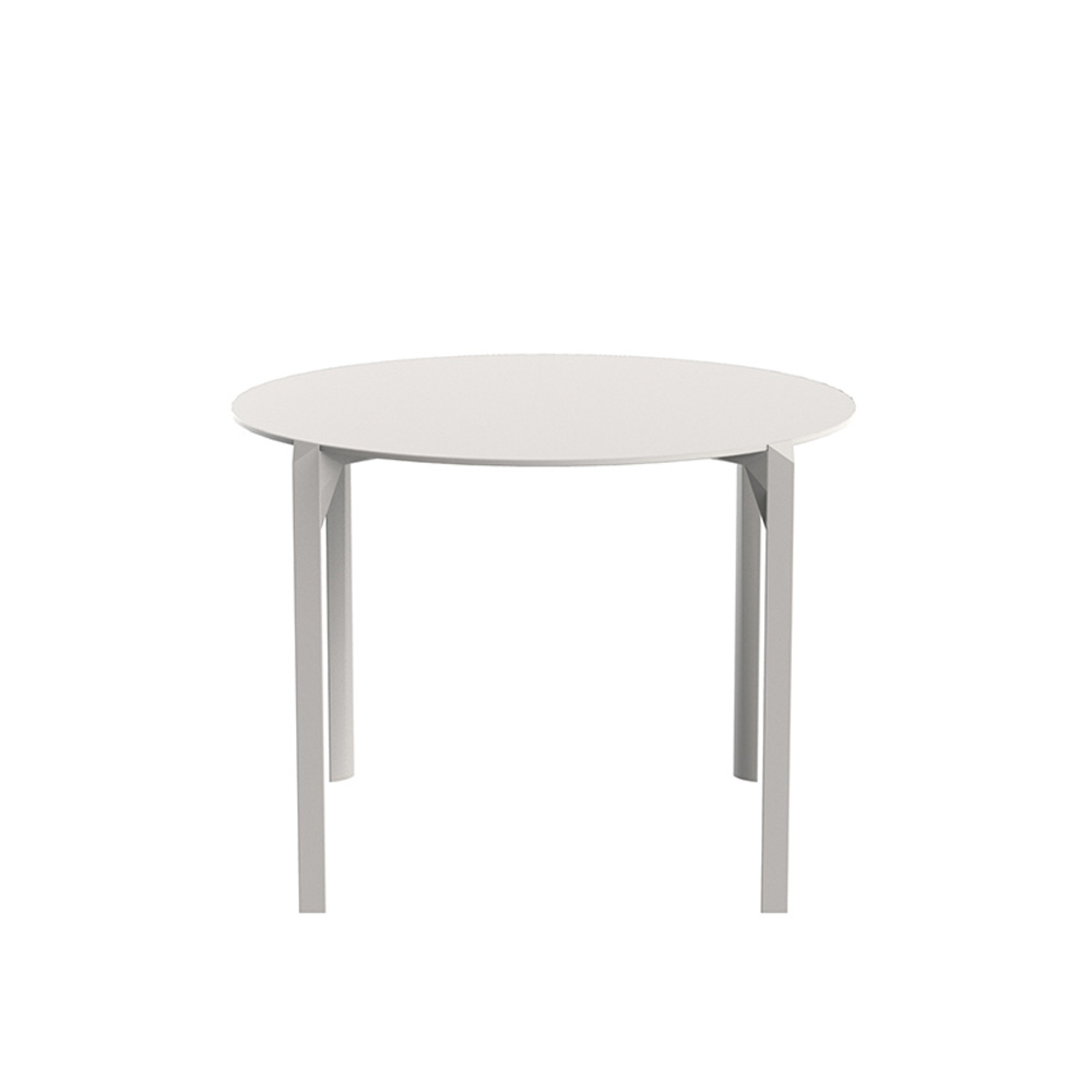Quartz Small Round Dining Table within Fashionable Dom Round Dining Tables